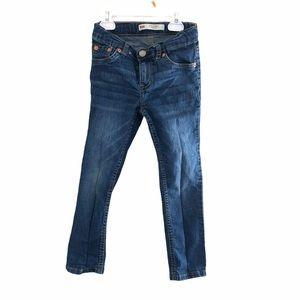 Levi's 510 skinny jeans- boys size 5T